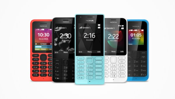 Tlačítkové telefony Nokia nabízené od 1. prosince