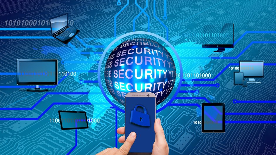 Mobilní bezpečnost, malware, ilustrace