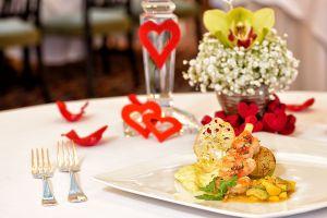 Předkrm - mozzarella v restauraci Savoy Hradčany