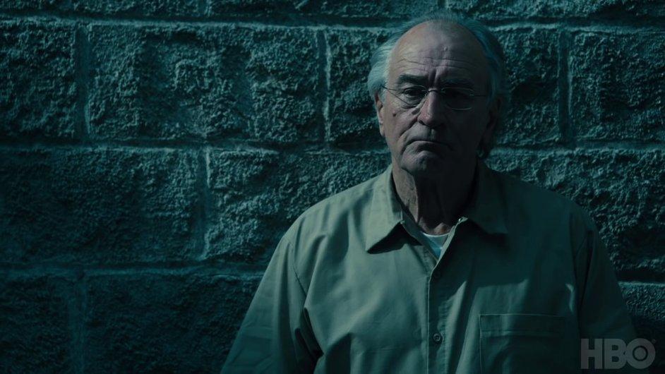 Robert De Niro ve filmu hraje podnikatele Bernarda Madoffa.