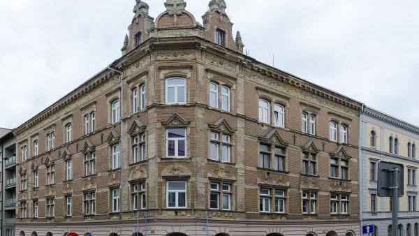 činžovní dům v ulici Čelakovského v Plzni