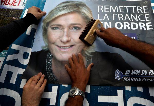 Le Penová, Francie, prezidentské volby