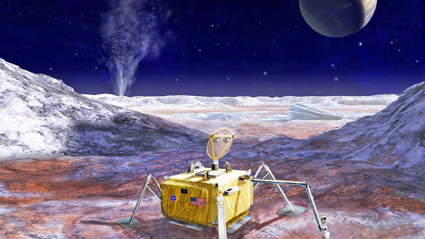 Mise je provizorně označována jako Europa Lander - Ilustrační foto.