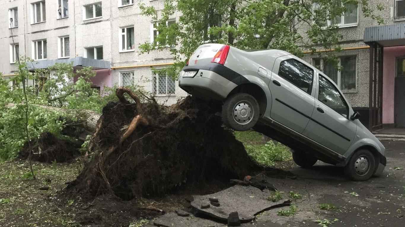 Uragán, který zasáhl Moskvu, je nejničivější za posledních 100 let.