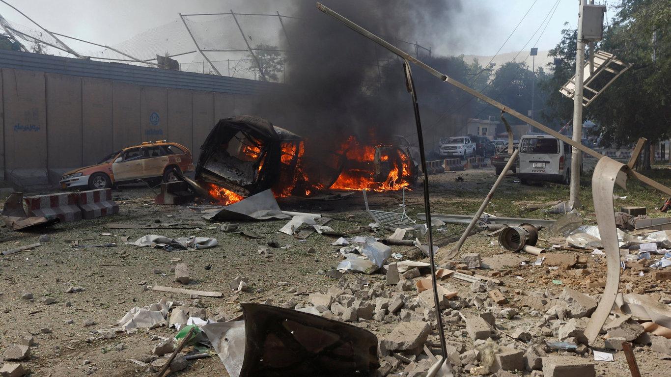 K explozi došlo nedaleko německé ambasády a zhruba kilometr od ambasády ČR.