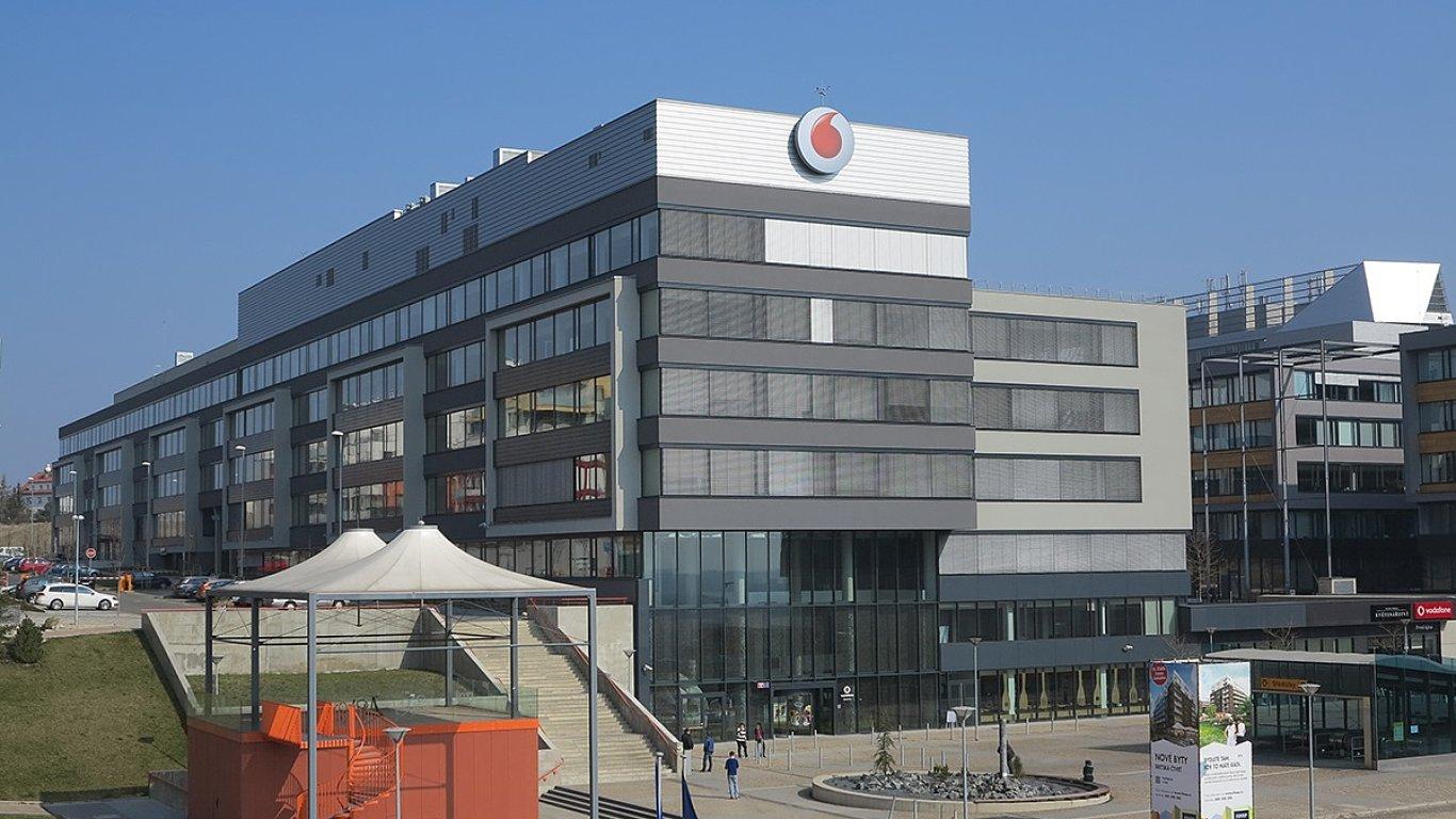 Centrála Vodafone v Praze-Stodůlkách