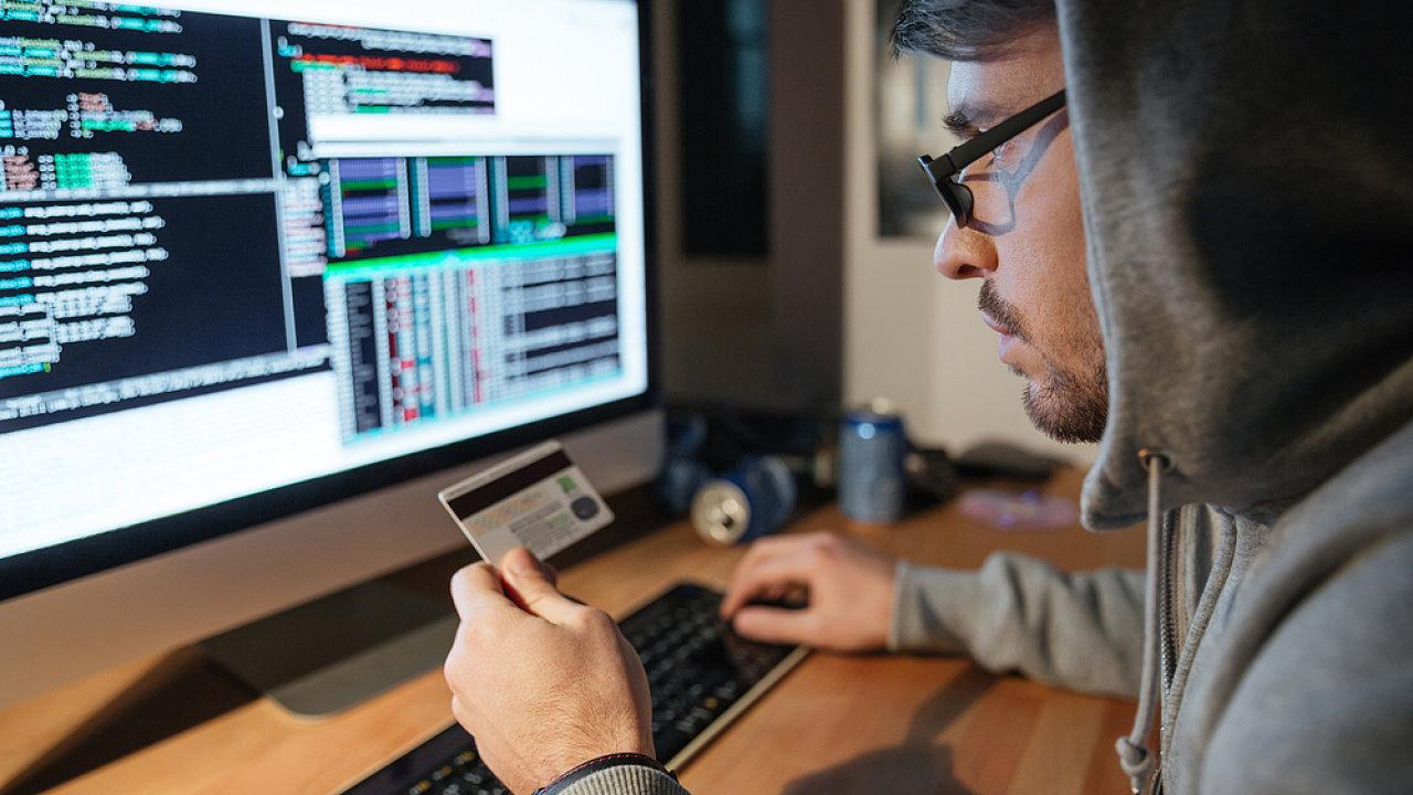 Hacker, počítačová bezpečnost - Ilustrační foto