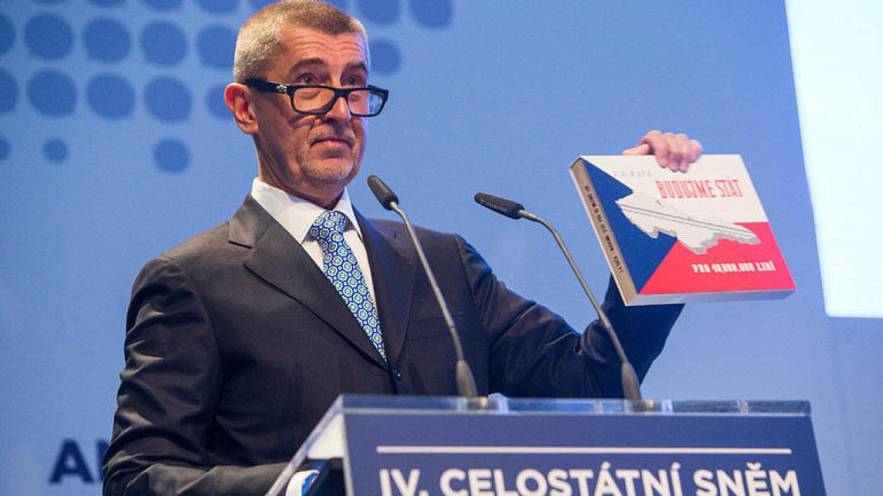 Sněm ANO 2017: Kandidátský projev Andreje Babiše.
