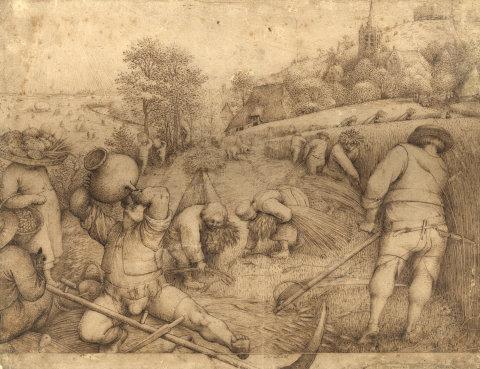 Pieter Bruegel starší: Léto 1568