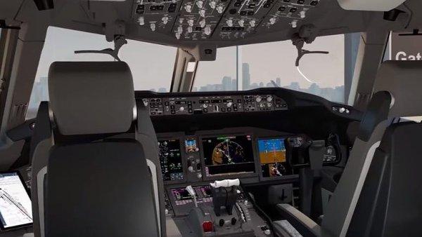 Boeing ukázal novou palubní desku. Ulehčí pilotům výcvik a sníží pracovní zátěž.