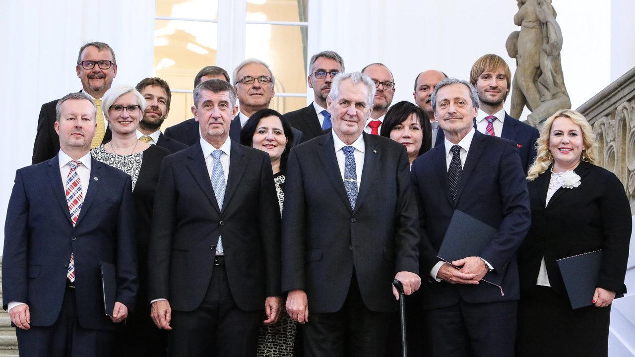 nová vláda, Andrej babiš