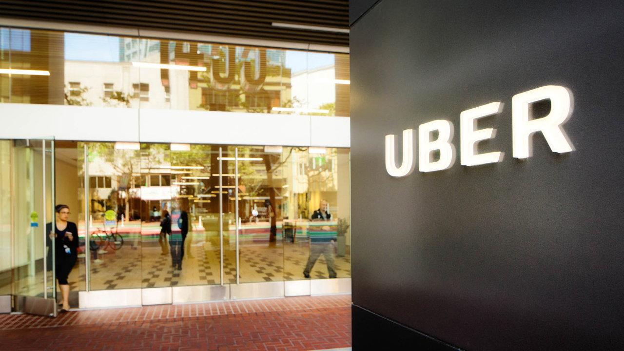 Uber je americká nadnárodní dopravní a mobilní společnost umožňující objednání přepravy osobním automobilem.