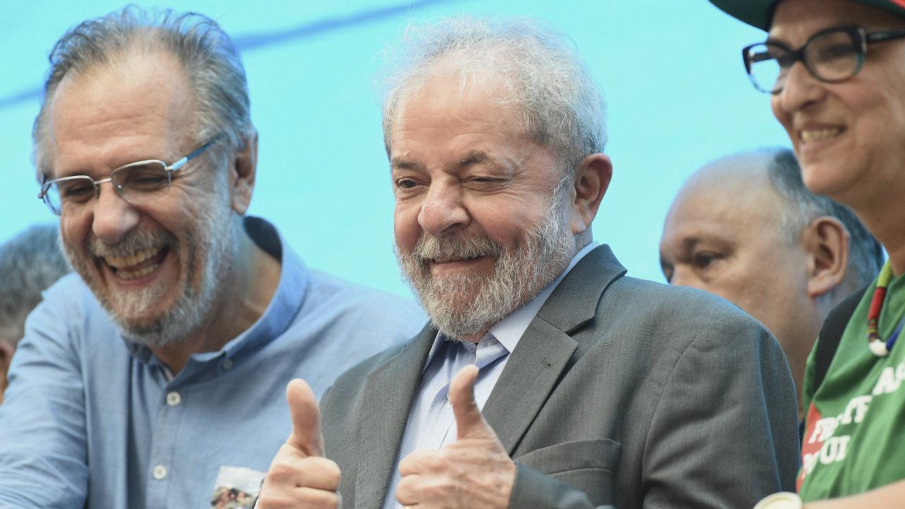 Brazílie prezident Luiz Inacio Lula da Silva