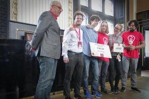 CEEHACKS Smart Mobility Hackathon Prague 2018 - vítězný tým Student dreamers