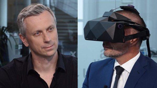 Holečko: Technologie vyřeší problémy lidstva, ve virtuální realitě se i operuje mozek.