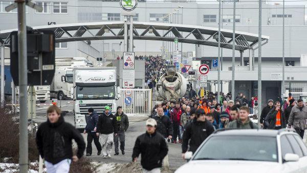 Odboráři odmítli návrh Škody Auto na růst mezd a vyhrožují, že zastaví výrobu. Nabídka firmy byla pod úrovní očekávané inflace