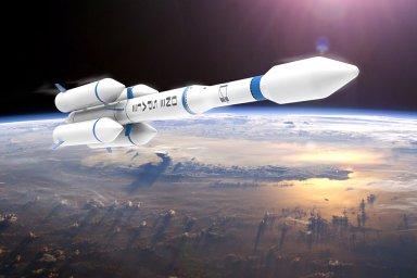 Raketa čínské společnosti OneSpace – Ilustrační foto.