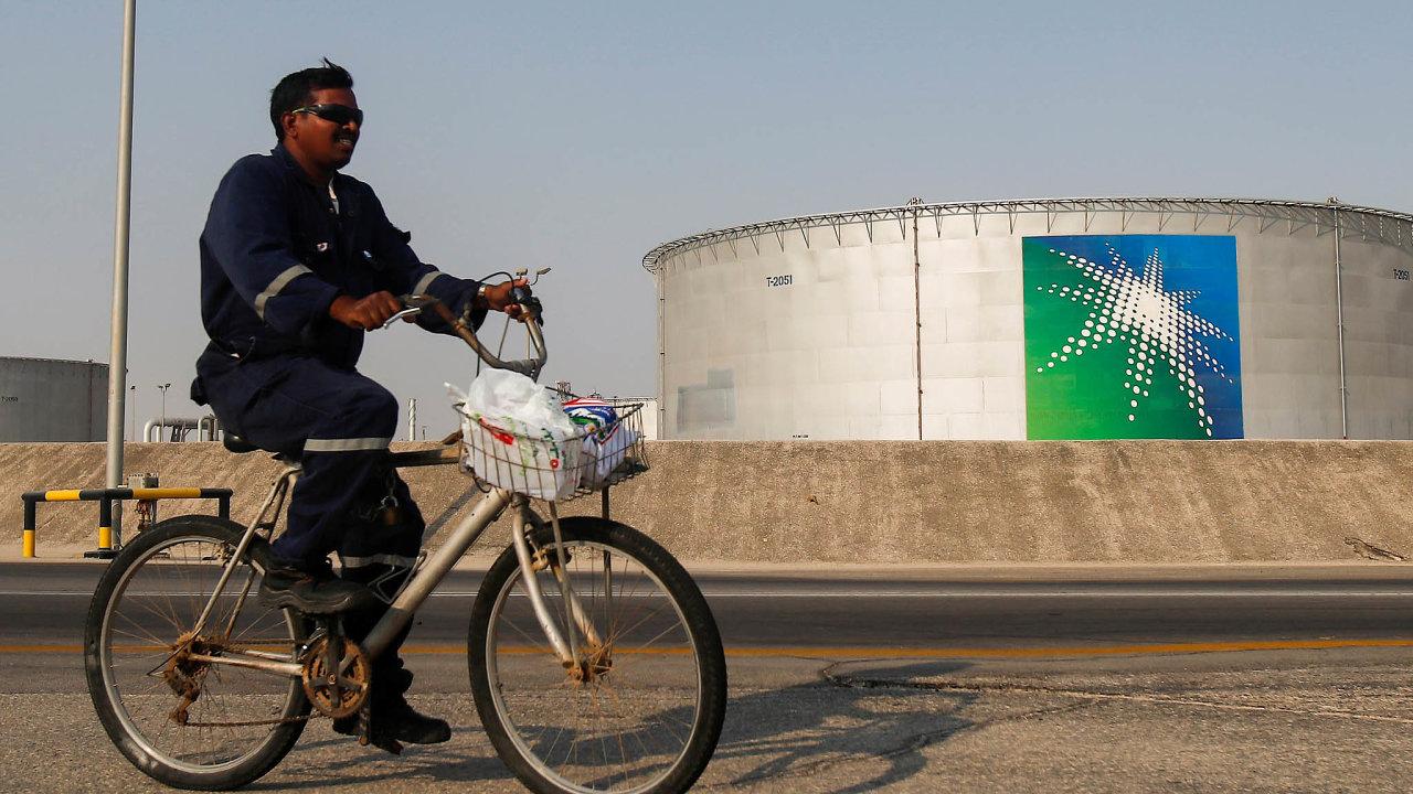 Saudi Aramco je největším ropným těžařem světa.