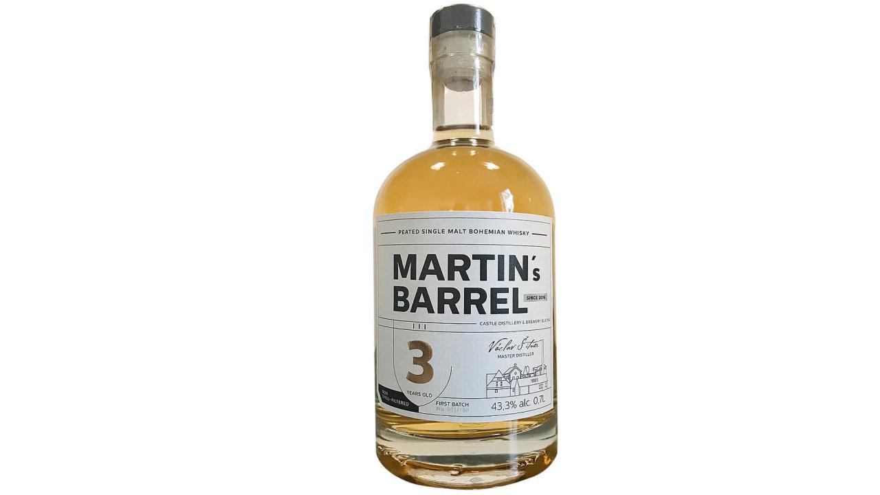 Sívíčko slečny Bohemian Whisky