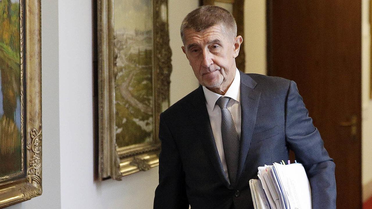 """Premiér Andrej trvá natom, že novela zákona o střetu zájmů vznikla kvůli tomu, aby ho další politické strany """"vyštvaly"""" zpolitiky."""