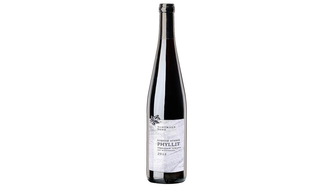 Víno z edice Liquid Stone.