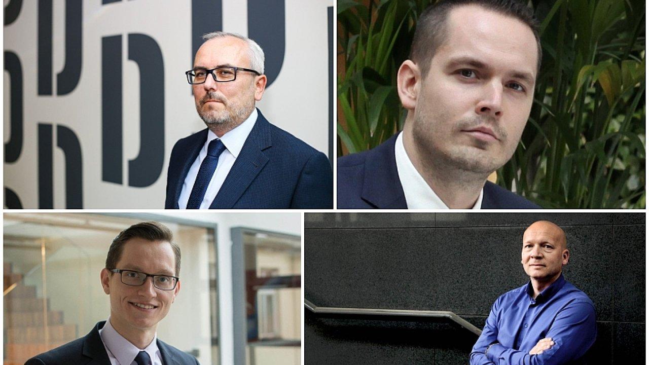 Think tank HN: Petr Dufek, Vladimír Zuzák, Štěpán Křeček, Hendrik Mayer.