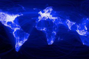 Sociální síť, jak ji neznáte: Facebook vymazal Rusko a Čínu z mapy světa