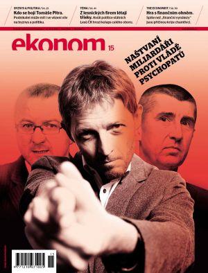 Týdeník Ekonom - č. 15/2012