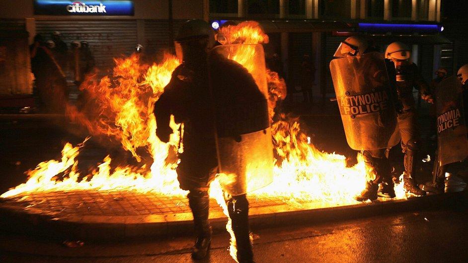 Řecko se vzteká.