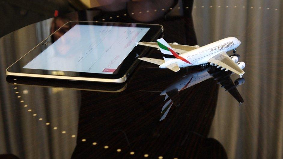 Tablet HP ElitePad 900 míří do letadel Emirates