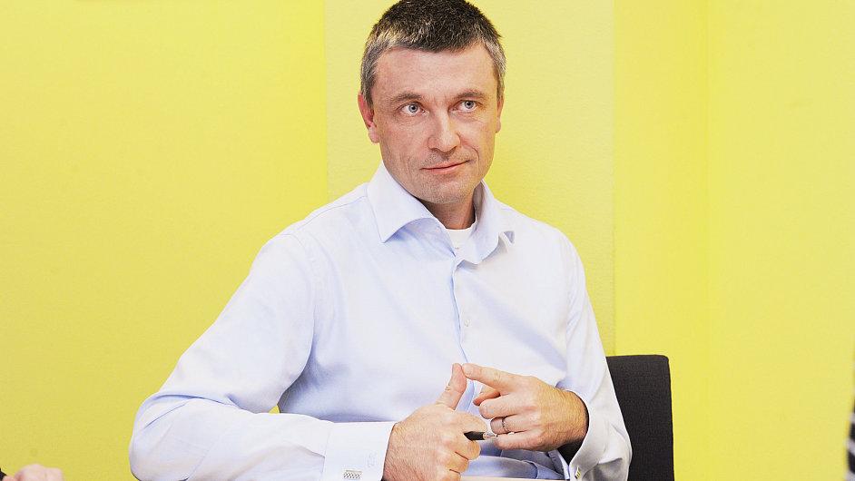 Tomáš Rybička, finanční ředitel firmy Xerox