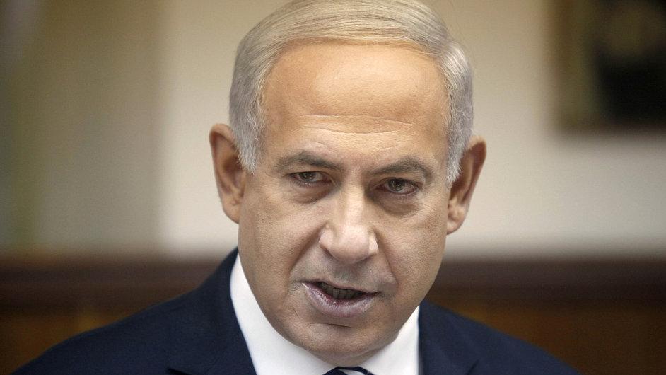 Premiér Benjamin Netanjahu