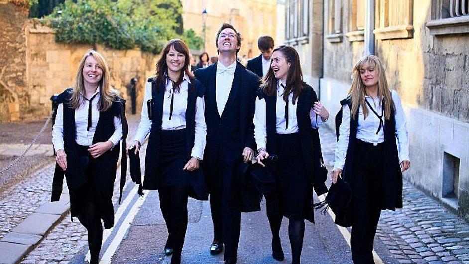 Oxfordští studenti