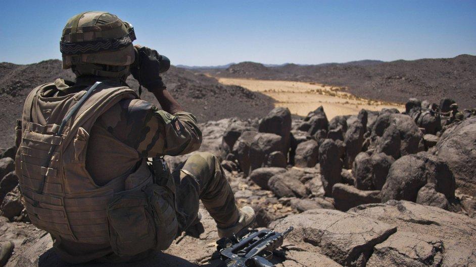Evropští vojáci v Mali.
