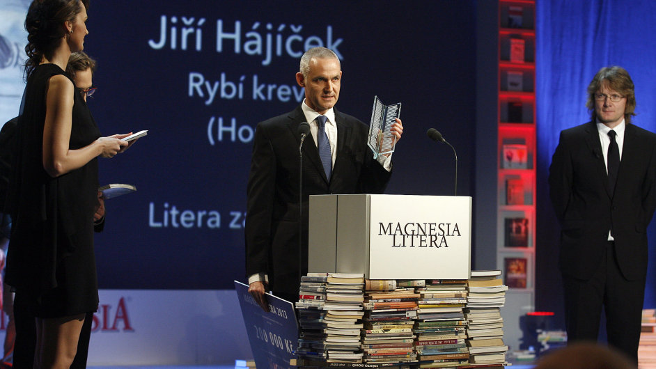 Předávání cen Magnesia Litera, Nová scéna ND, 24. dubna 2013