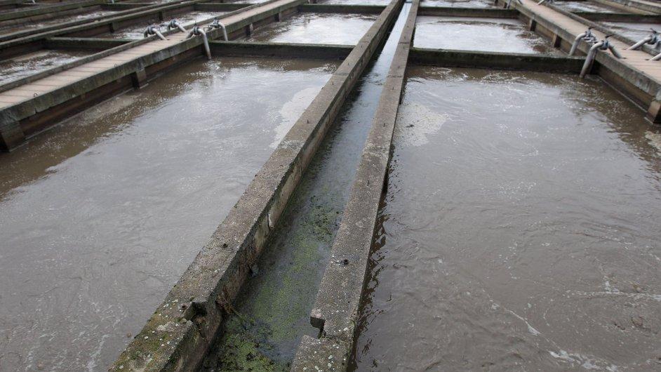 Čistírna odpadních vod. Ilustrační foto