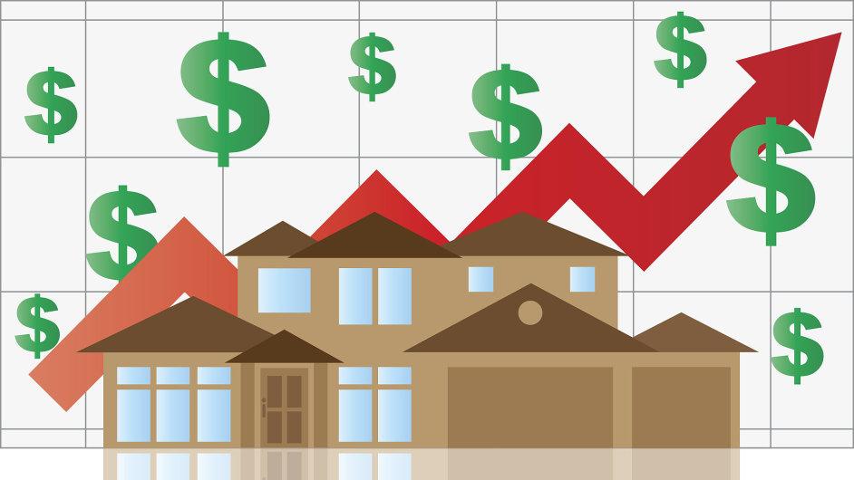 Ceny bytů v USA rostou