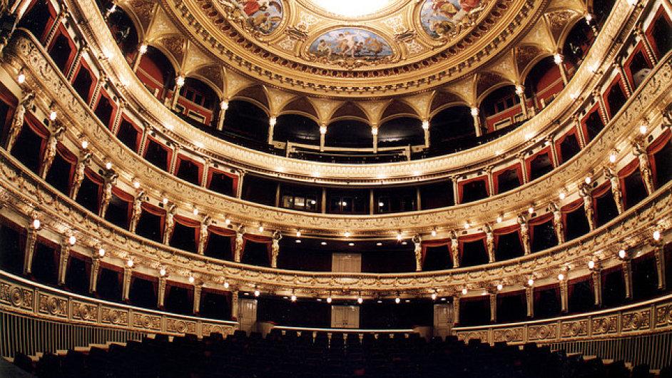 Pohled do hlediště Mahenova divadla v Brně