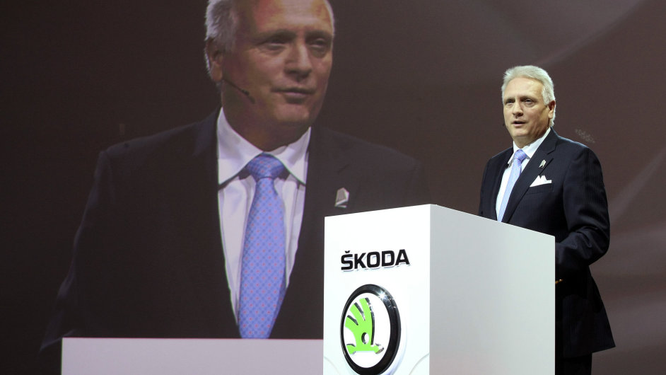 Předseda představenstva Škoda Auto Winfried Vahland spravuje německému Volkswagenu jeho českou investici dobře. Alespoň podle žebříčku EVA.