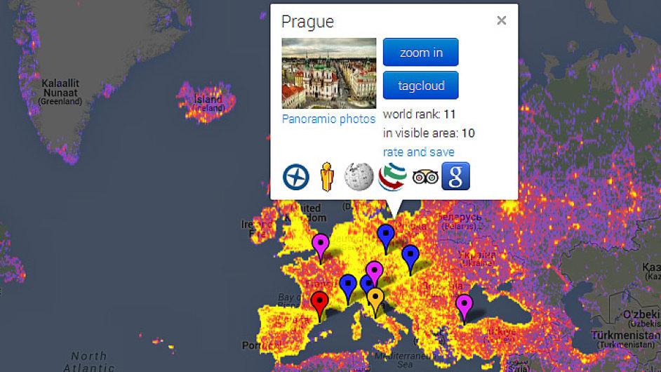 Screenshot  Google SightMap.