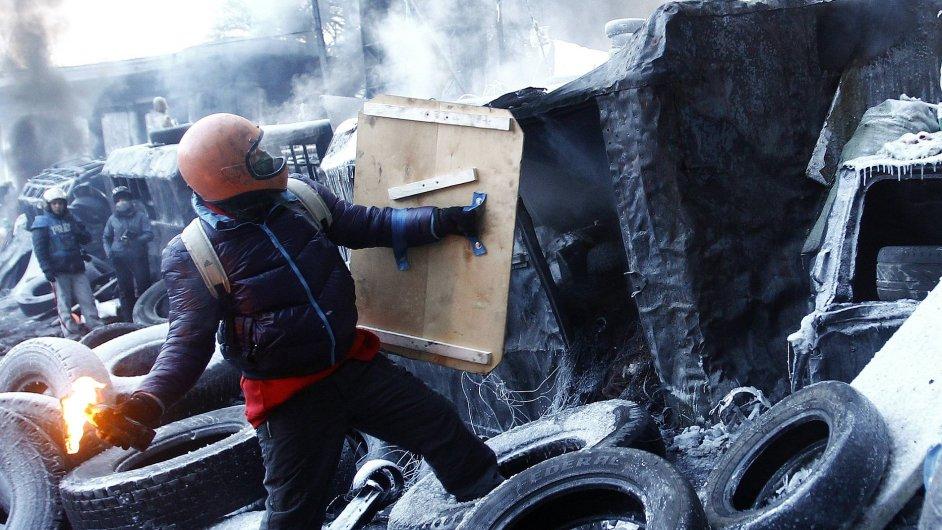 Protesty v Ukrajině