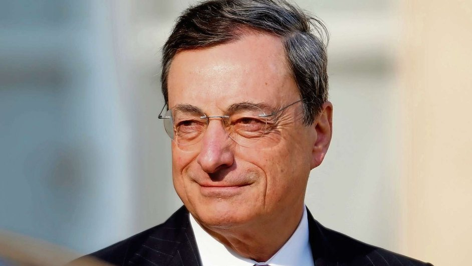 Guvernér ECB Mario Draghi (ilustrační foto).