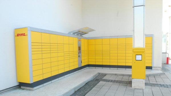 Balíkomaty DHL Locker jsou již hojně rozšířené v Německu. První v Česku je v Atriu Flora - Ilustrační foto.
