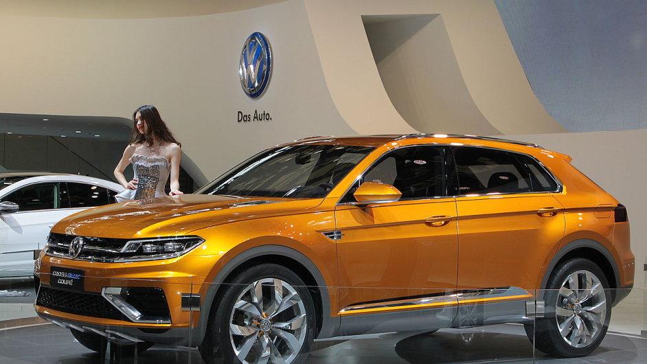 Koncept VW CrossBlue Coupe v podobě, v jaké byl v dubnu 2013 prezentován na autosalonu v Šanghaji.