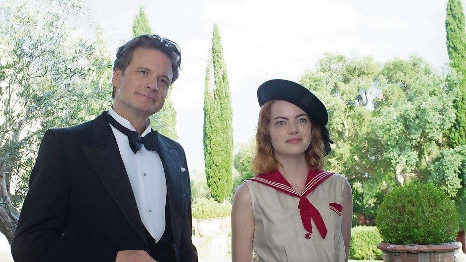 Mágové Colin Firth a Emma Stoneová měří síly v novém filmu Woodyho Allena.