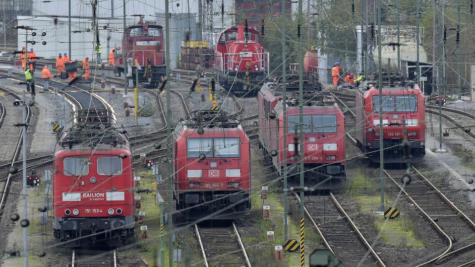 Německá Deutsche Bahn zažívá největší stávku za posledních 20 let.