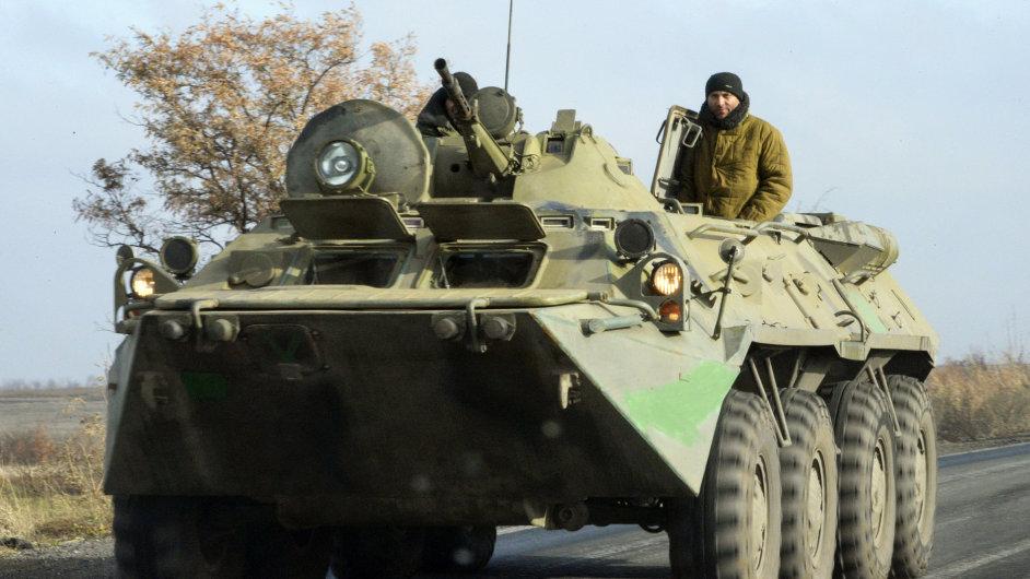 Tank proruských rebelů