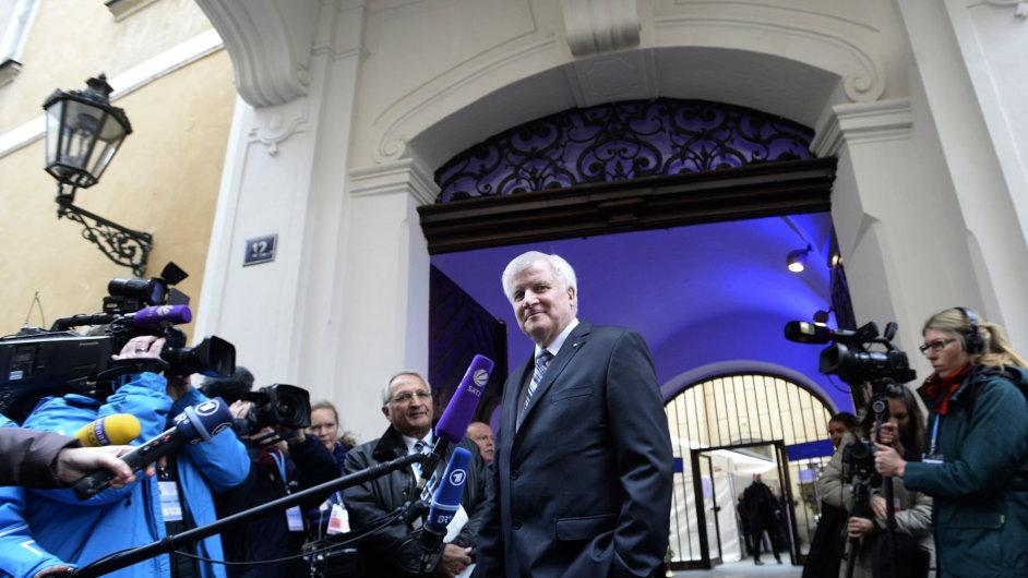 Bavorský premiér Horst Seehofer