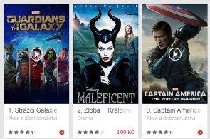 Google prodával filmy za hubičku, Strážci galaxie v HD stáli jen 17 korun