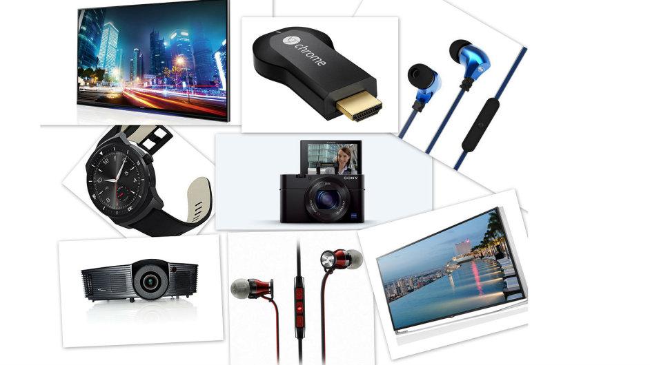 Koláž nejlepších AV produktů roku 2014